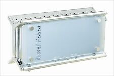 New Russel Hobbs Glass Toaster 10617JP Morning Bread from Japan F/S