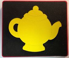 Sizzix Large Red Original Die Cutter ~ TEAPOT ~ Tea Time Cup Spout