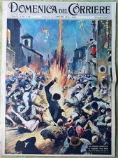 La Domenica del Corriere 25 Ottobre 1959 Errol Flynn Mario Riva Lascia Raddoppia