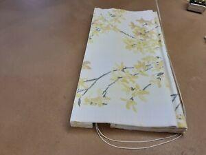 Roman Blind, Laura Ashley Forsythia Sunshine Fabric  (Made to measure)