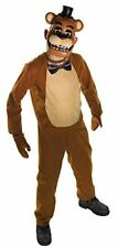 Five 5 Nights at Freddys Halloween Costume - Freddy Size Tween Medium 34-36