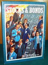 1964 Stocks & Bonds Bookshelf Game - 3M - Complete - VGC