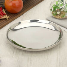 Stainless Steel Oval Bowl Without Lid Serving Dish Platter Kitchen Buffet #1