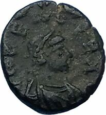 ZENO 476AD Quality Authentic Ancient Original Genuine Roman Coin MONOGRAM i65778