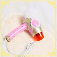 Foldable Card Captor Sakura Sealing Wand Hairdryer Portable Hair Blow Dryer