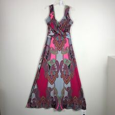 Venus Dress Women's Medium Red Sleeveless Full Length Sun Dress