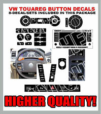 2004-2009 Touareg Buttons A/C Power Window Steering Wheel Radio Headlight Decals