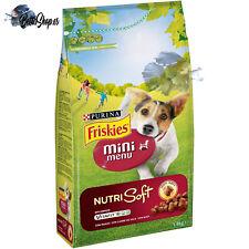 Pienso para perros adultos raza Pequeña purina Friskies Vitafit con buey 1 4kg