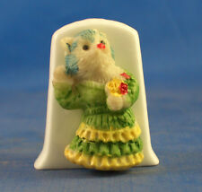 Birchcroft Thimble -- Model  -- Flamenco Cat