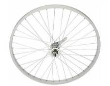"BICYCLE HEAVY DUTY  26"" X 2.125 x 12G ALLOY SILVER REAR WHEEL COASTER BRAKE !"