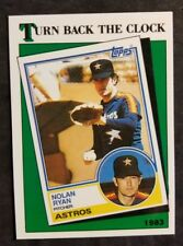 Nolan Ryan Texas Rangers 1988 Topps #661 Tiffany Baseball Card Free Shipping