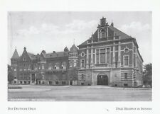 """*Indiana Postcard-""""The Das Deutsche Haus"""" /Social Club & Restaurant/ (A25-2)"""