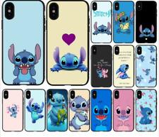 COVER SILICONE IPHONE 6 - 6s- 7 - 8 - X - XR - Disney Stitch Lilo ohana famiglia