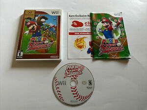 Super Mario Sluggers - Nintendo Selects (Wii, 2008) Complete