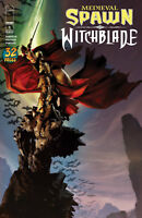 MEDIEVAL SPAWN WITCHBLADE #1 (OF 4) CVR A HABERLIN - IMAGE COMICS - F284
