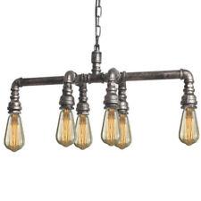 Lámpara colgante de iluminación de techo de interior de hierro 4-6 luces