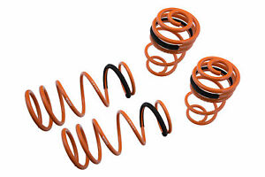 For 06-12 Nissan Versa Megan Racing Lower Lowering Colis Springs Set