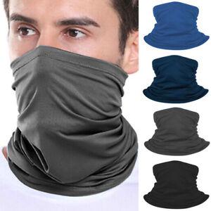 Face Mask Scarf Bandana Head Cover Biker Gaiter Tube Snood Neck Warmer Cycling~