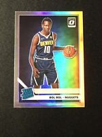 BOL BOL Rookie 2019-20 Panini Donruss Optic Silver Holo Rated Rookie