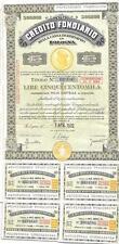 8900) CREDITO FONDIARIO CASSA DI RISPARMIO IN BOLOGNA 1970, CARTELLA 500.000.