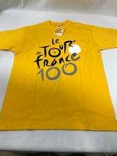 Le De Tour France TShirt 100th Anniversary Bike Cycling Adult Small S New W Tahs