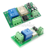 Wireless Self-lock Smart WiFi Switch Relay Module DC5V/DC5V-12V APP Control