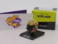 "Minichamps 315120096 # AGV Fahrerhelm "" Valentino Rossi "" MotoGP Misano 2012"