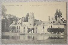 """CPA """" Environs de BAYEUX - MAISONS - Le Château (Côté Nord)"""
