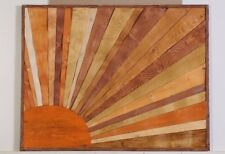 Wall artwork  wood art sculpture abstract large size1180x920mm