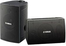 NEW Yamaha NS-AW294 Indoor/Outdoor Speaker System Pair 2-Way Black Weatherproof