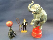 Charbens Rare 1930's Lead Figures Circus Series Superb