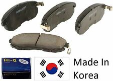 OEM Rear Ceramic Brake Pad Set With Shims For Kia Forte 2010-2013