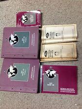 1997 LINCOLN MARK VIII 8 V III Service Shop Repair Manual Set W EVTM +SPECS + x