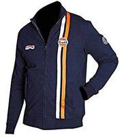 Steve McQueen Gulf Le Men Grandprix Navy Blue Racing Cotton Top Jacket