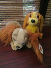 Lady and the Tramp - Set of Two Lady Soft  Toys