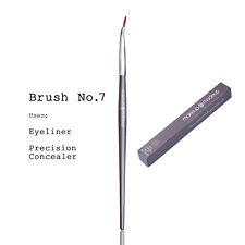 Maquillaje MADEUP Profesional Cepillo de Maquillaje Delineador doblada, delineador de ojos, corrector #7