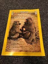 National Geographic magazine May 1975 Adirondacks, Baboons, Nazca Lines, Provenc