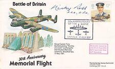 Flown Spitfire Battle of Britain Signed N R Ross DFC  Lancaster Pilot 617 Sqn
