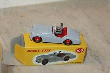 dinky toys / Triumph TR2 sports, n°105 reproduction Atlas