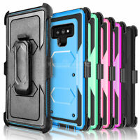 Rugged Phone Case for Samsung Galaxy Note 9 S8 Plus S6 edge S7 Cover Belt Clip