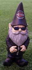 """Garden Accent Extra Large Gnome Harley Davidson NEW 10 1/2"""" tall"""