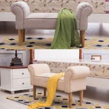 Otomanas y reposapiés de tela para el hogar