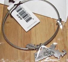 Bella Ryann Expandable Bracelet Massachusetts Bay State  *