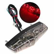 LED MotorbikeRear Brake Tail Light  Running Taillight Universal Red POSSBAY