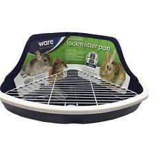 Small Pet Litter Box Plastic Bedding Corner Lock Critter Ferret Pan Pets 12�x8�