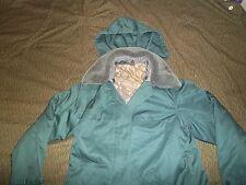 East German (DDR) Female VOLKSPOLIZEI Jacket with Winter Liner, Hood, Fur Collar