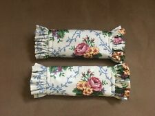 (2) Longaberger Mothers Day Pattern Handle Grippers #2190355  00004000