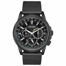 Citizen BU2025-76E Men's Calendrier Black Eco-Drive Watch