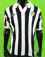 Bianconeri Juve 1985-89 Kappa Juventus Retro Home Shirt Michel Platini SIZE L