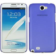 Hardcase Samsung Galaxy Note 2  purple Cover + protective foils